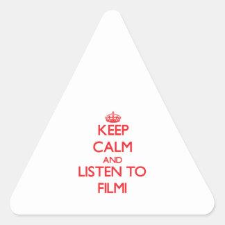 Guarde la calma y escuche FILMI
