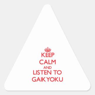 Guarde la calma y escuche GAIKYOKU