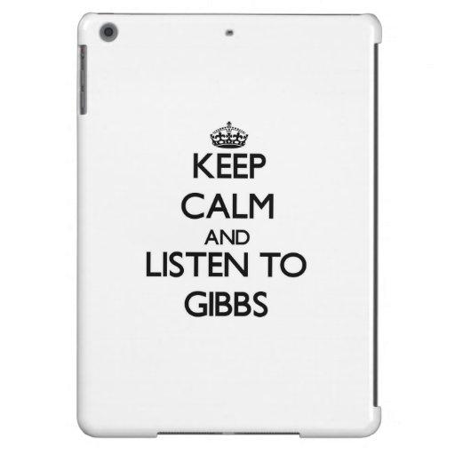 Guarde la calma y escuche Gibbs