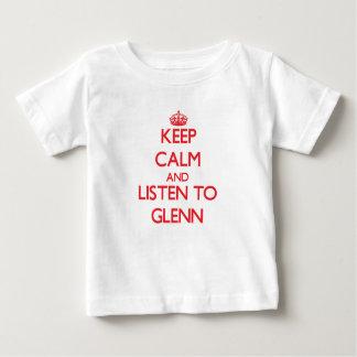 Guarde la calma y escuche Glenn Tshirt
