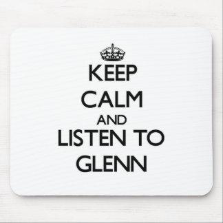 Guarde la calma y escuche Glenn