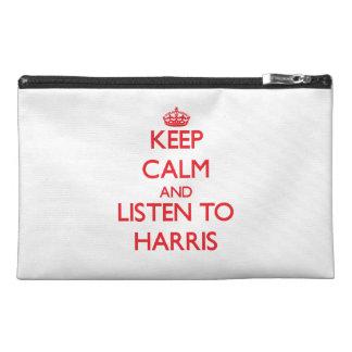 Guarde la calma y escuche Harris