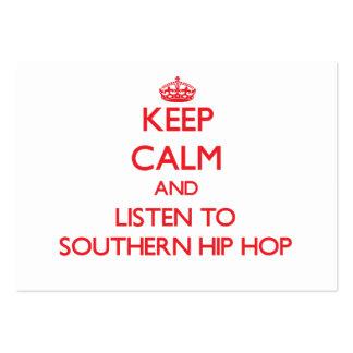 Guarde la calma y escuche HIP HOP MERIDIONAL