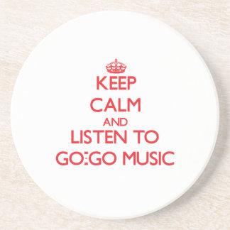Guarde la calma y escuche IR-PARA IR MÚSICA