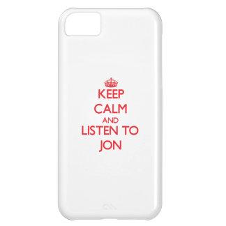 Guarde la calma y escuche Jon