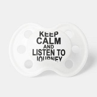 Guarde la calma y escuche Journey.png Chupetes Para Bebés