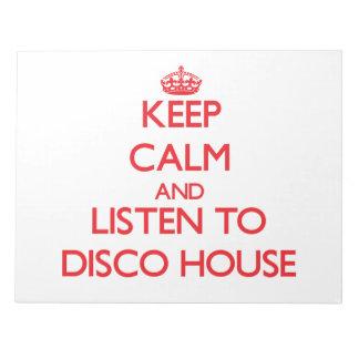Guarde la calma y escuche la CASA del DISCO