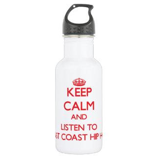 Guarde la calma y escuche la COSTA ESTE HIP HOP