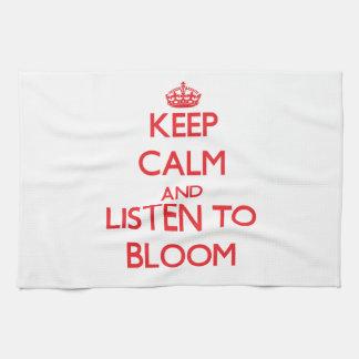Guarde la calma y escuche la floración