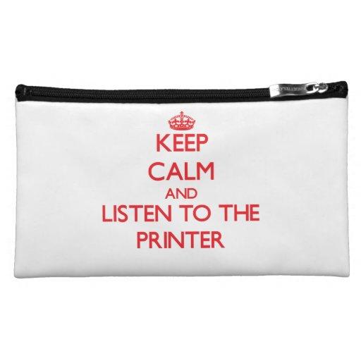 Guarde la calma y escuche la impresora