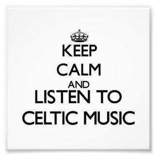 Guarde la calma y escuche la MÚSICA CÉLTICA Fotografías