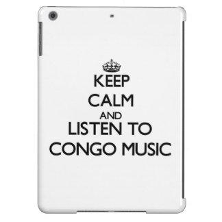 Guarde la calma y escuche la MÚSICA de CONGO