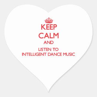 Guarde la calma y escuche la MÚSICA de DANZA INTEL