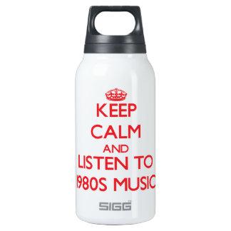 Guarde la calma y escuche la MÚSICA de los años 80