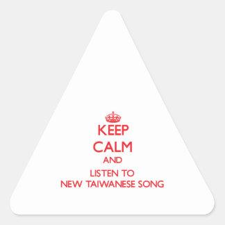 Guarde la calma y escuche la NUEVA CANCIÓN TAIWANE