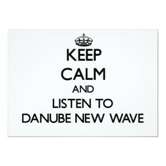 Guarde la calma y escuche la NUEVA OLA de DANUBIO Comunicado