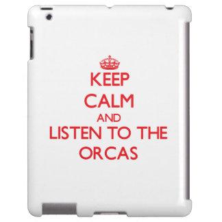 Guarde la calma y escuche las orcas