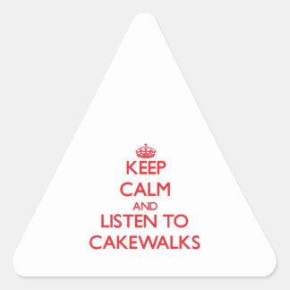 Guarde la calma y escuche los CAKEWALDES