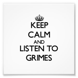 Guarde la calma y escuche los Grimes