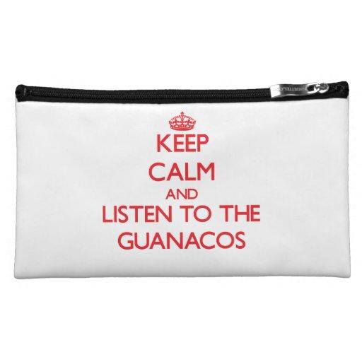 Guarde la calma y escuche los Guanacos