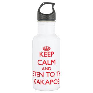 Guarde la calma y escuche los Kakapos