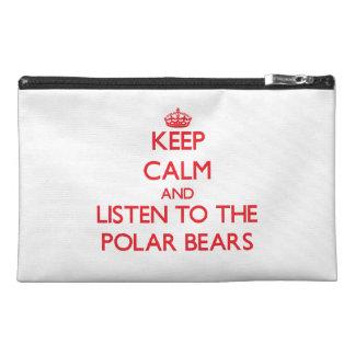 Guarde la calma y escuche los osos polares