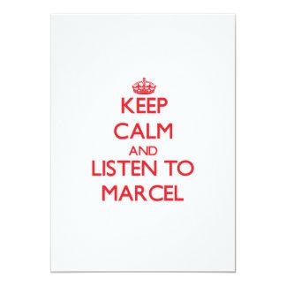 Guarde la calma y escuche Marcelo Comunicados Personalizados