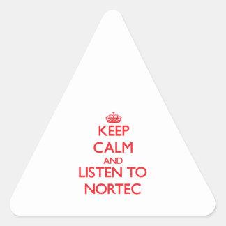 Guarde la calma y escuche NORTEC