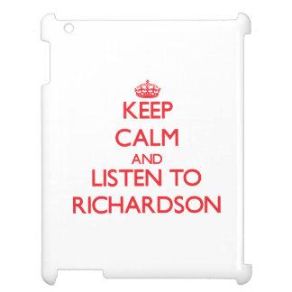 Guarde la calma y escuche Richardson