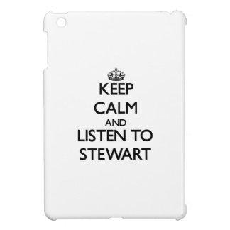 Guarde la calma y escuche Stewart