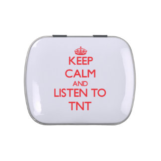 Guarde la calma y escuche TNT