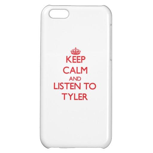 Guarde la calma y escuche Tyler