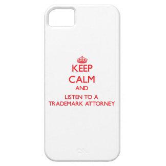 Guarde la calma y escuche un abogado de la marca funda para iPhone 5 barely there