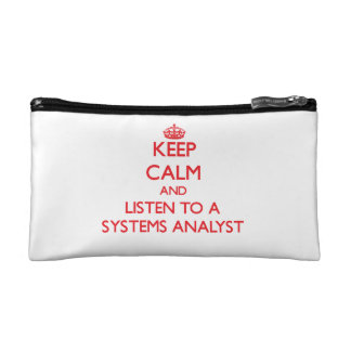 Guarde la calma y escuche un analista de sistemas