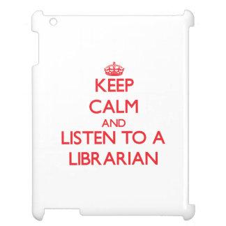 Guarde la calma y escuche un bibliotecario