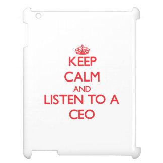 Guarde la calma y escuche un CEO