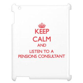 Guarde la calma y escuche un consultor de las pens