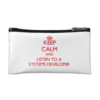 Guarde la calma y escuche un desarrollador de los