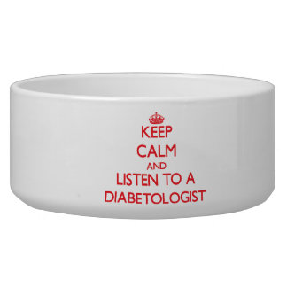 Guarde la calma y escuche un Diabetologist Boles Para Gatos