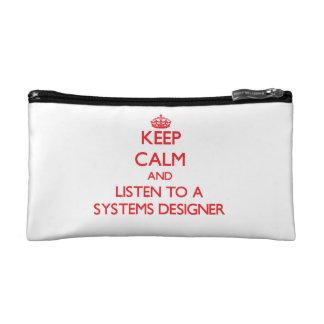 Guarde la calma y escuche un diseñador de sistemas