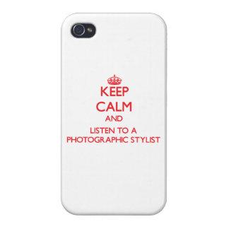 Guarde la calma y escuche un estilista fotográfico iPhone 4 cobertura