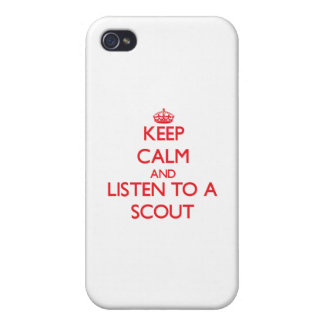 Guarde la calma y escuche un explorador iPhone 4 cobertura