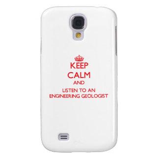 Guarde la calma y escuche un geólogo de la ingenie