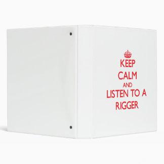 Guarde la calma y escuche un instalador