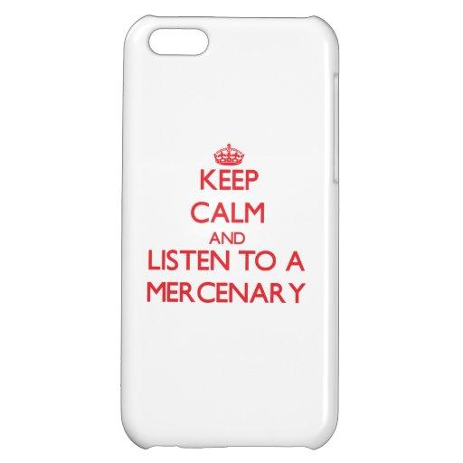 Guarde la calma y escuche un mercenario