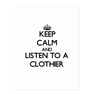 Guarde la calma y escuche un panero postales