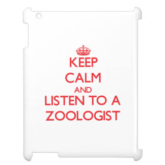 Guarde la calma y escuche un zoologista