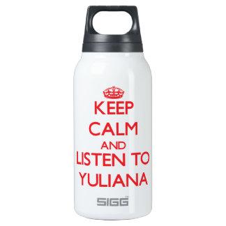 Guarde la calma y escuche Yuliana