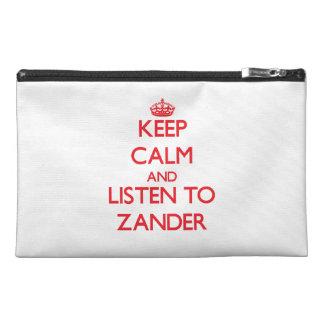 Guarde la calma y escuche Zander