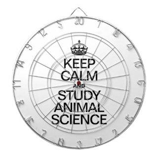 GUARDE LA CALMA Y ESTUDIE LA CIENCIA ANIMAL